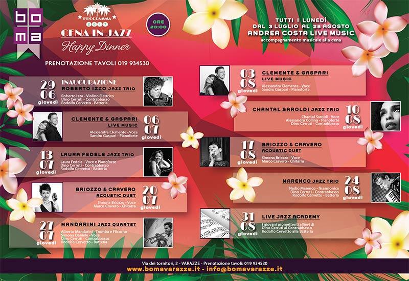 Realizzazione calendario eventi