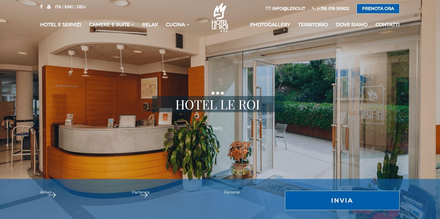 Hotel Le Roi Varazze 1 - Savona
