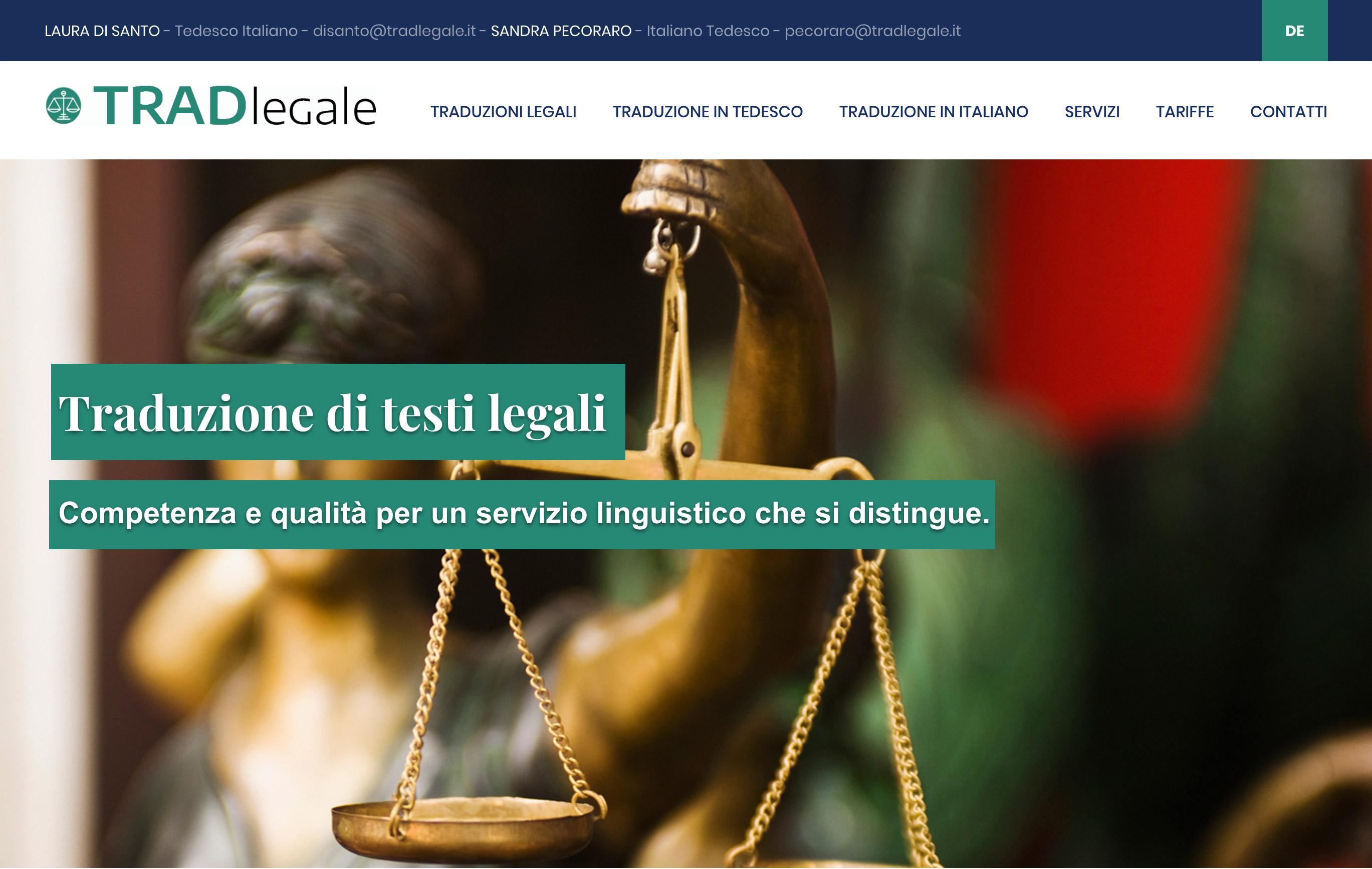 sito web tradlegale